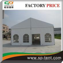 8x15m Tentes de fête de petite activité avec des murs en verre pour tous les types d'événements à l'extérieur, les espaces d'extension