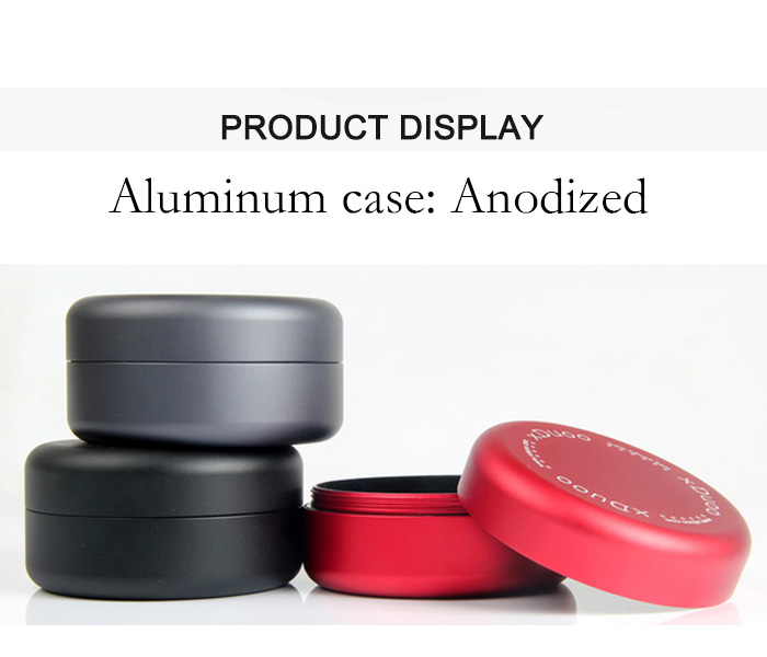 Aluminum storage case for earphone