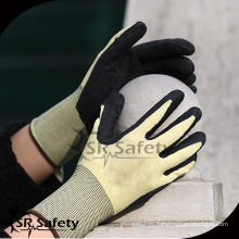 SRSAFETY 13G Вязаный лайнер с латексным покрытием Герметичные перчатки