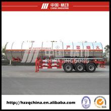 Camion de réservoir GPL avec Semi remorque à vendre
