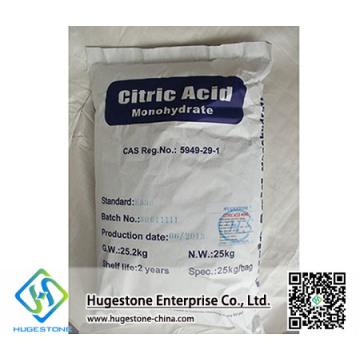 Aditivo alimenticio Ácido cítrico anhidro