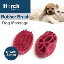 2020 Promotional Item Bathing Grooming Tool Pet Rubber Brush