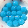 Fashion Sparking Lots Acrylic Round Smooth Crystal Beads Wholesale