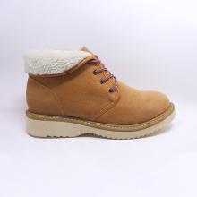 Homens de alta qualidade moda couro botas de trabalho com cordões