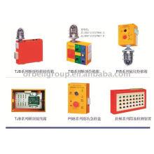 Elevador Caja (inspección, pozo, parte superior del coche), parada de emergencia, piezas de elevación