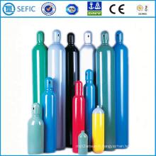 Cylindre de gaz en acier sans couture à haute pression de 30L (ISO204-30-20)