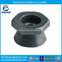 Casquillo de acero al carbono / tuerca antirrobo