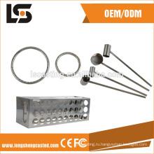 Подвергать механической обработке CNC точности Штемпелюя части блестящей поверхностью
