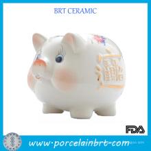 Ceramic Piggy Coin Bank regalo de la promoción