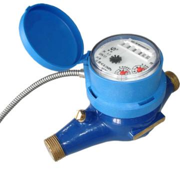 Corrección automática de errores Medidor de agua electrónico con salida de impulsos