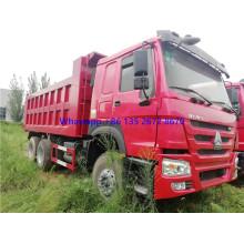 SINOTRUCK HOWO Used 6X4 dump truck