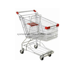 Supermarché Metal Shopping Trolley Cart Hand Trolley
