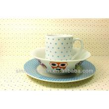 3pcs Ceramic Dinner Set for BS131223D