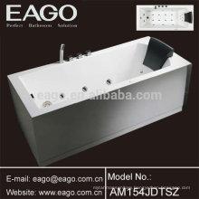 New Design Acrylic Whirlpool Hydromassage Bathtub (AM154JDTSZ)
