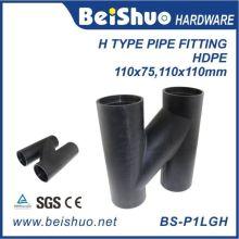 Fornecedor de encaixes de tubos com tubo de ventilação de tipo H