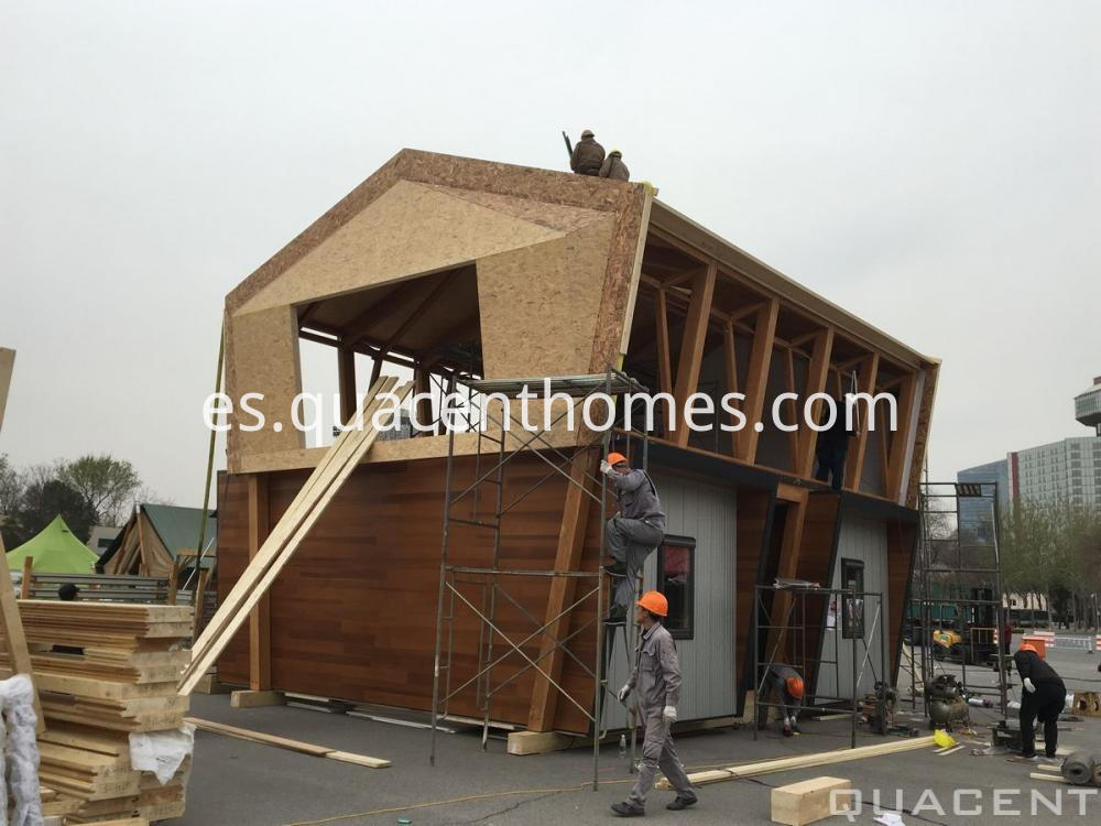 Glued Timber House