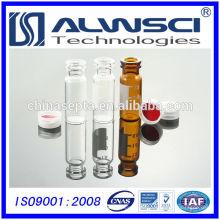 Heißer Verkauf 1.8ml klare Glasschnalle hplc Durchstechflasche vom China-Hersteller