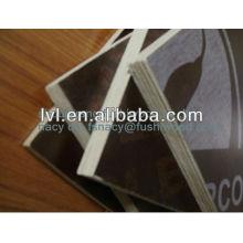 De buena calidad negro / marrón filmado contrachapado hoja de contrachapado para la construcción
