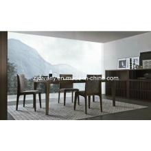 Table à manger en bois Style Italien salle à manger (E-25)