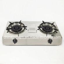 Double Burner #120*#120 Brass Burner Gas Stove