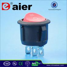 Mini interruptor oscilante de alta calidad de 3 vías