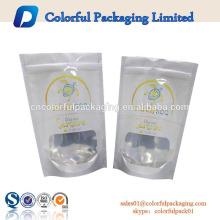 sacos de empacotamento resealable da folha de alumínio de produto comestível que imprimem com logotipo