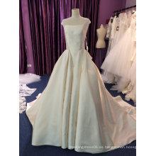 Vestido de boda de la princesa 2017 de la nueva llegada con el ojo de la cerradura