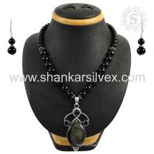 Scrumptious joyas de plata de piedras preciosas múltiples 925 joyería de plata esterlina joyas al por mayor