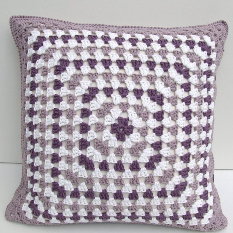 2 2crochet Cushion Cover