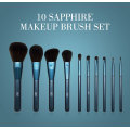 set berus morphe Luxury Blue Glitter Comestics Brushes