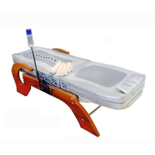 Electric Full Body Therapeutic Infrared Jade Roller Wood Massage Roller Bed