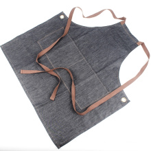 KEFEI topsale wholesale denim bib apron with pockets,,denim apron