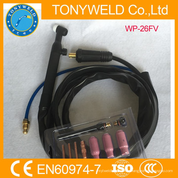Luftgekühlte Argonpistole WP-26FV Gas und Kabel getrennt