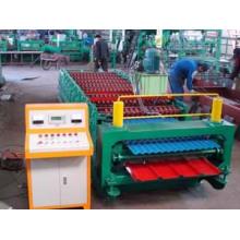ISO9001: 2008 Профилегибочная машина для производства двухслойных рулонов из цветной стали