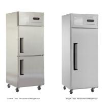 Réfrigérateur commercial à porte simple, prix bon marché