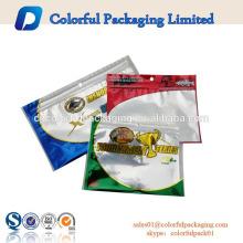 design personalizado resealable ziplock iscas de isca de pesca embalagem isca buraco
