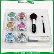 Cuerpo profesional arte Glitter Tattoo Kit con polvo del brillo 6