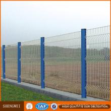 La fábrica de Anping PVC / polvo recubrió la cerca de seguridad soldada con alambre de la malla de alambre 3D