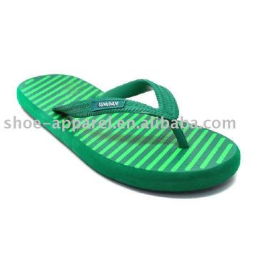 Green mais recente Eva Slippers 2013