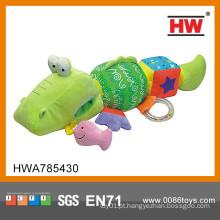 Interessante bebê brinquedo animais brinquedo fábrica pelúcia animal plush brinquedo crocodilo