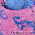 Günstigen Preis gedruckte Mädchen Super Soft Coral Fleece Bademantel mit Kapuze