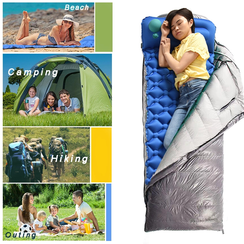 Sleeping Pad With Pillow