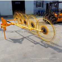 Tractor Mounted Hay Rake with 5 Plate