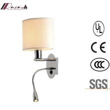 E27 LED Metal Fabric Wall Light Factory Price