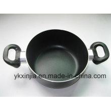 Amazon Vendor Kitchenware Aluminum Nonstick Coating Sauce Pot Without Lid