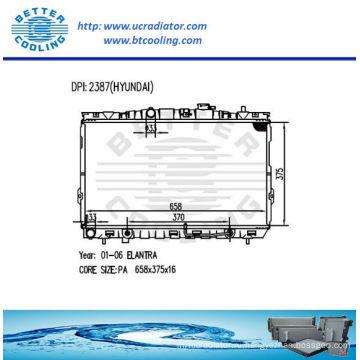 Авто радиатор для Hyundai