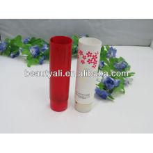 Цветная косметическая трубка для лосьона от загара