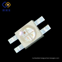Factory High Brightness Both Side Soldering 4 Pin 6028 rgb Smd for Keyboard