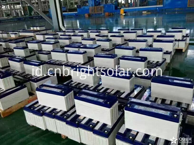Solar Street Light Battery 250AH