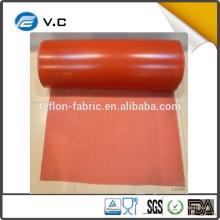Hot venda fabricante composto pano tecido de fibra de vidro com silicone na China